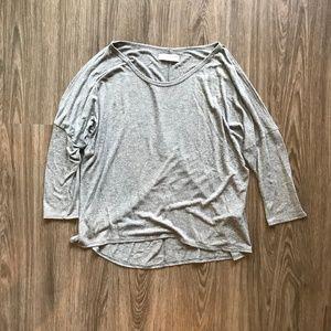 Cutout Sleeve Shirt